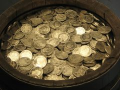 gold coins, kruggerands, silver coins, sa coins